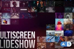 Videohive – Multiscreen Slideshow || FCPX – 31910560