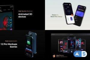 Videohive – Phone 12 App Promo – 31507049