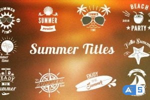 Videohive Summer/Holiday Title Pack 2 16575638
