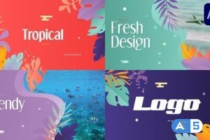 Videohive Tropical Promo Slideshow | After Effects 32184738