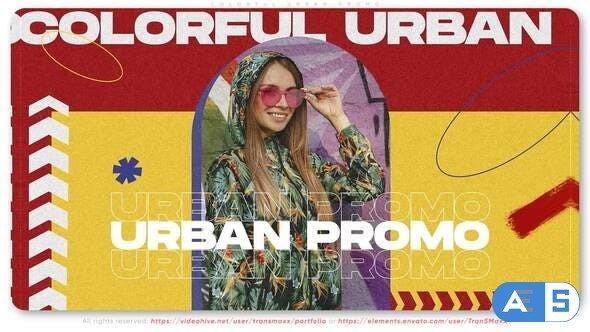 Videohive Colorful Urban Promo 32194735