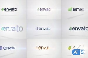 Videohive Quick Logo Sting Pack 10: Clean Rotation 14746046