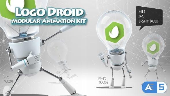 Videohive Logo Droid Modular Animation Kit 20344870