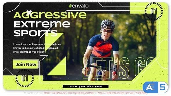 Videohive Aggressive Extreme Sports 32159860