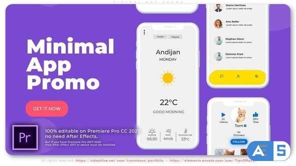 Videohive – Minimal App Promo – 32111755