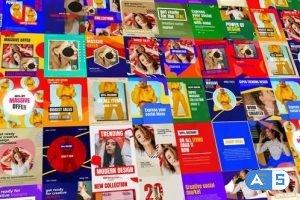 Videohive Pop Social Posts 32241653