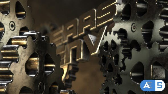 Videohive Gears of Your Logo 12650522