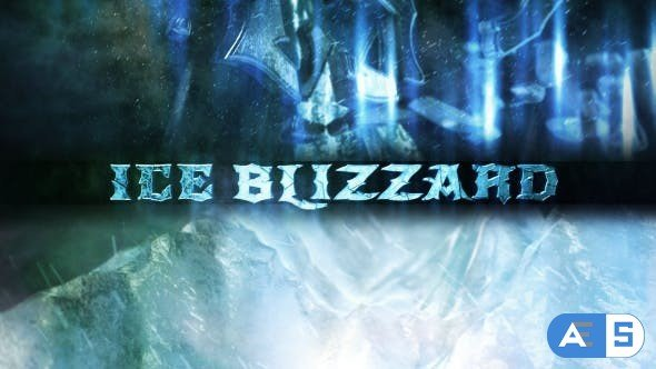 Videohive Ice Blizzard Logo 16887048