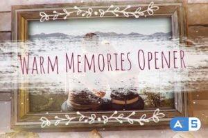 Videohive – Warm Memories Photo Opener – 31974609