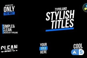 Videohive – Clean Titles – 31708998