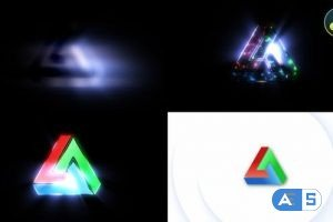 Videohive – Light Rays Logo Reveal – 31145914