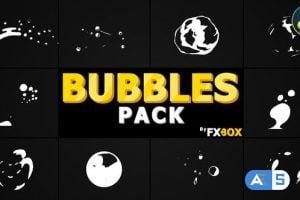 Videohive – Flash FX Bubbles Elements | DaVinci Resolve – 32321158