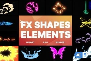 Videohive – Elements Pack 10   Premiere Pro MOGRT – 32324414