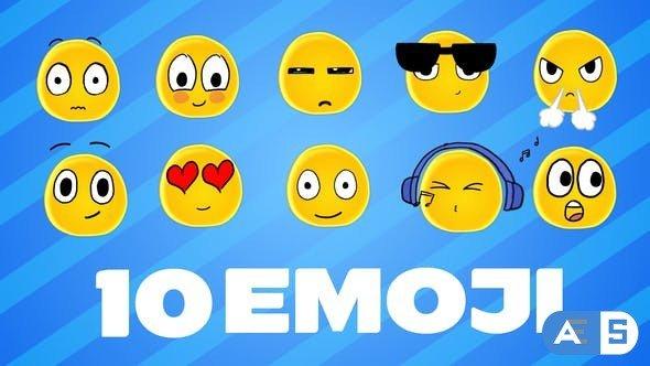 Videohive Emoji 32352236