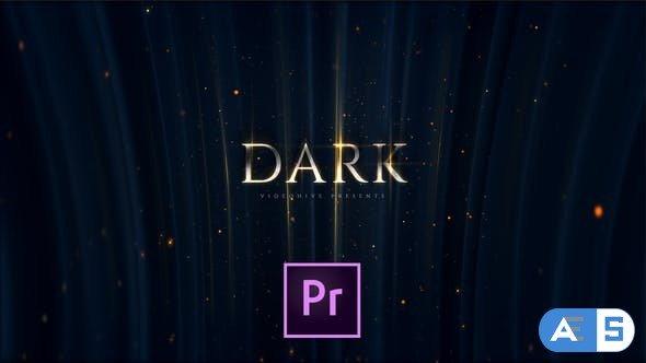 Videohive – Dark Premium Titles – 24472999