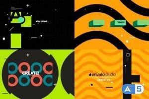 Videohive Shape Intro 31290080