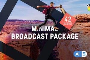 Videohive – Minimal Broadcast Package – 31644859