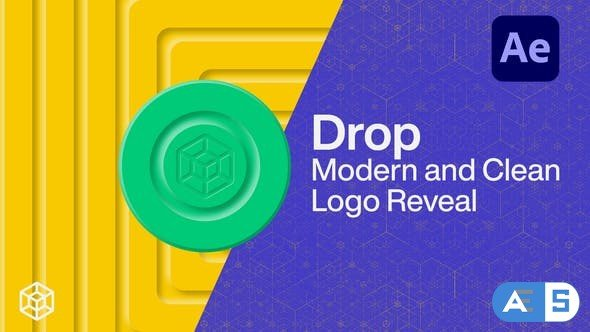 Videohive Drop – Modern and Clean Logo Reveal 26467585