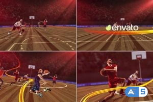 Videohive Basketball Opener 25749798