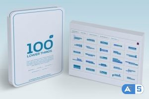 Videohive – 100 Lower Thirds Suits | MOGRT – 27315162