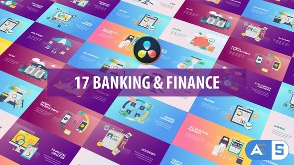 Videohive – Banking and Finance Animation | DaVinci Resolve – 32458282