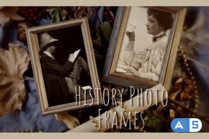 Videohive – History Photo Frames Cinematic Opener – 32443680