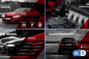 Videohive Sport Car Salon Presentation 32502025