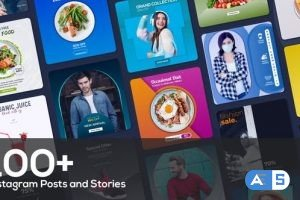 Videohive 100+ Instagram Posts and Stories Suite 31656287