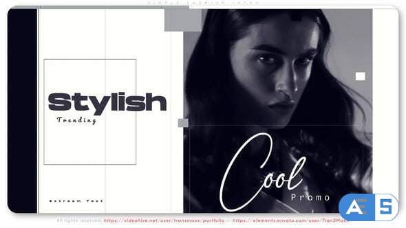 Videohive Simple Fashion Intro 32526420