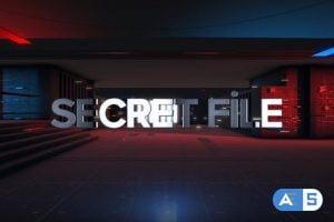 Videohive Secret File Element 3D Opener 22598893