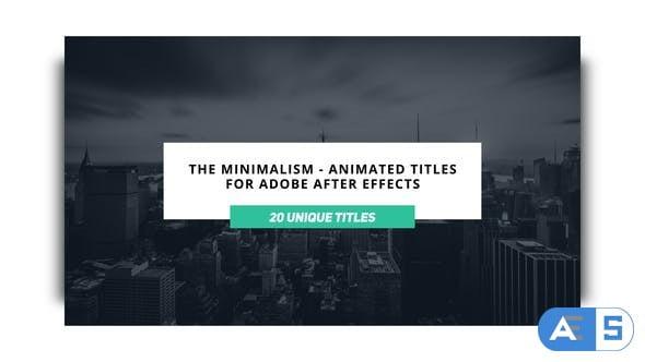 Videohive The Minimalist 23068248