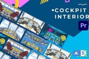Videohive – Cockpit Interior Animation | Premiere Pro MOGRT – 32524580