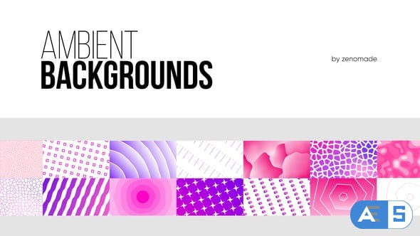 Videohive – Ambient Backgrounds for Premiere Pro – 32438804