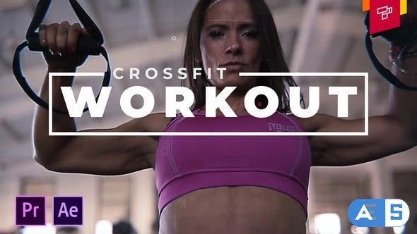 Videohive – Workout Crossfit Intro – 32520581