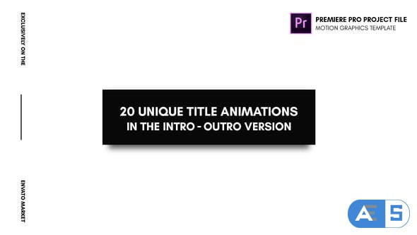 Videohive – Animated Titles – Essential Graphics | Mogrt – 21903440