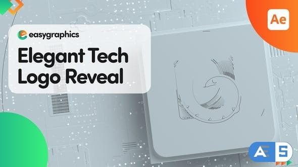 Videohive Elegant Tech Logo Reveal 32567974