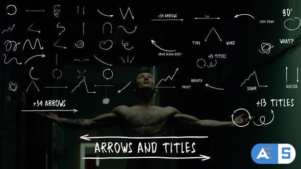 Videohive Arrows And Titles | After Effects 32378404