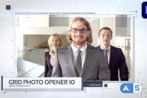 Videohive – Grid Photo Opener – Corporate Slideshow – 32552500