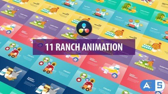 Videohive – Ranch Animation | DaVinci Resolve – 32580131