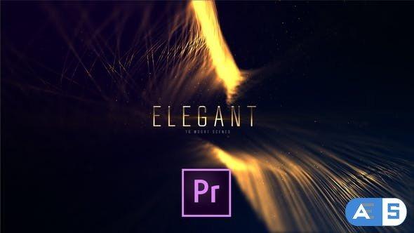 Videohive – Elegant Lines Titles | Premiere – 24414253