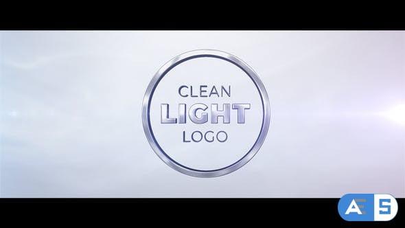 Videohive Light Clean Logo 23535949