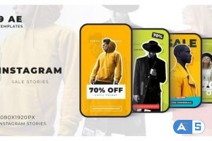 Videohive Instagram Sale Stories 32589389
