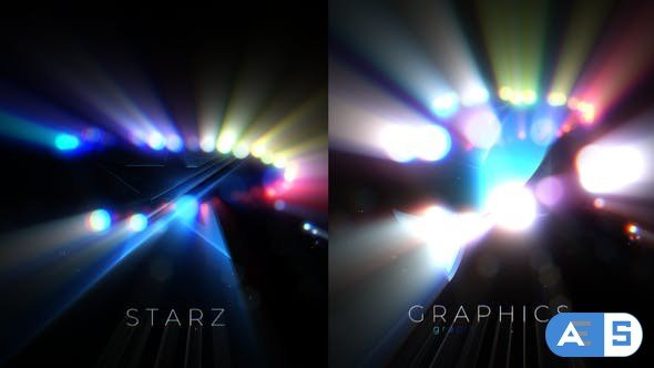 Videohive Glowing Particles Logo Reveal 32532798