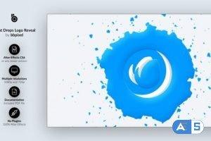 Videohive Paint Drop Logo Reveal 30948454