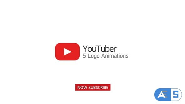 Videohive Youtuber Logo Stings – 5 Versions 20199981