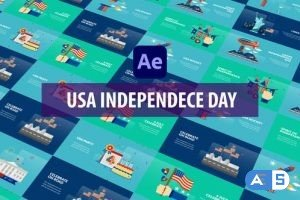 Videohive USA Independence Day Animation | After Effects 32600863