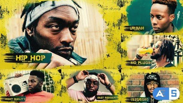 Videohive – Grunge Urban Opener / Hip-Hop / Brush / Slideshow / Street – 32085523