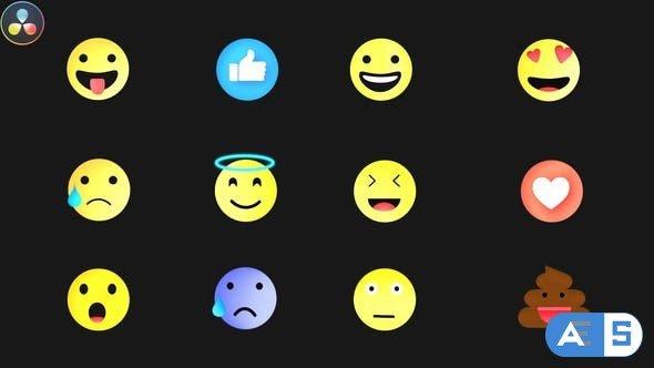 Videohive – Emojis Pack – 32590533