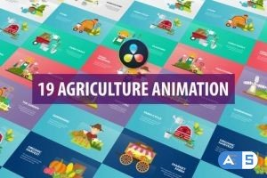 Videohive – Agriculture Animation   DaVinci Resolve – 32589197