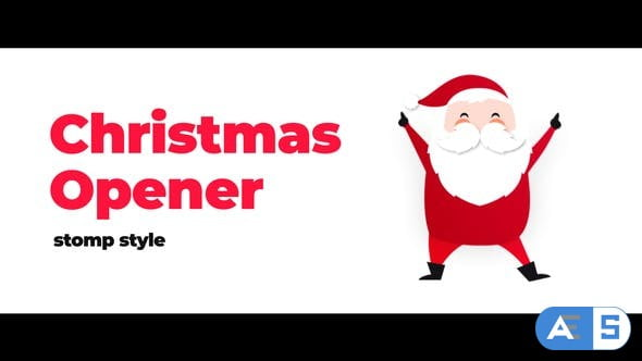 Videohive Christmas Modern Stomp Opener 22982843
